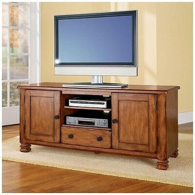 Altra Furniture 55inch Tv Stand Entertainment Center Tuscany Oak