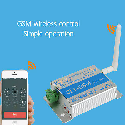 Cell Phone SMS SIM Remote Control GSM RELAY Quad Band Smart Switch Controller