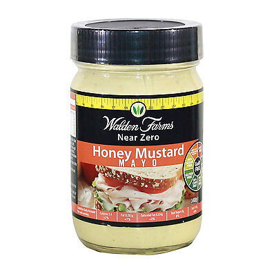 Walden Farms Low Calorie Honey Mustard Mayo 340g (DAIRY FREE-GUILT FREE)