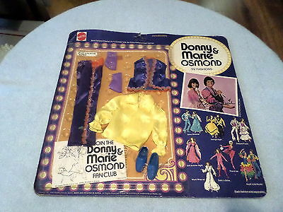 Vintage 1976 Donny & Marie Osmond T.v. Fashions - Nip - South 'o The Border 9814