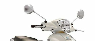 VESPA GT GTS CHROME MIRROR PAIR MIRRORS left and right (606985)