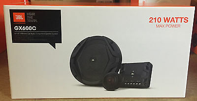 JBL 2-WAY 6.5 INCH 16.5cm CAR VAN DOOR COMPONENT TWEETERS SPEAKERS 210W each