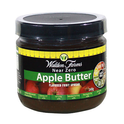 Walden farms Low Calorie Apple Butter Spread 340g (DAIRY FREE-GUILT FREE)