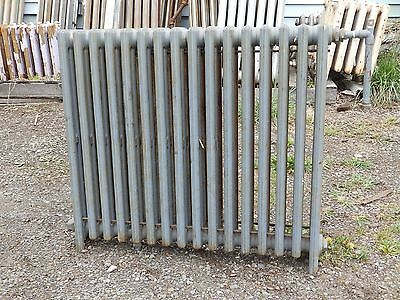 Vintage Hot Water Radiator 16 Sections Cast Iron Old Plumbing Heating 546-16
