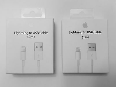 New Apple Lightning Cable USB Cable Charger iPhone X 8 7 6S Plus 5 SE 1/2M 3/6FT