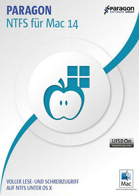 Paragon NTFS für Mac 14 ESD Download MAC