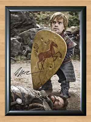 Peter Dinklage Game of Thrones Tyrion Signed Autographed A4 Print Poster Photo 2