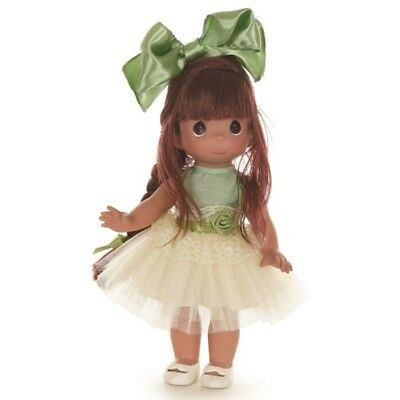 Precious Moments 12 Inch Doll, 'Tu-Tu Gorgeous', Brunette, 6573, New with PM box