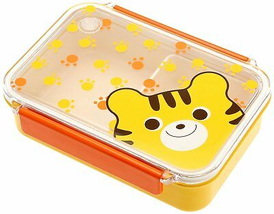 Kotobuki Snap-Lid Bento Box, Tiger and Paws [Kitchen]