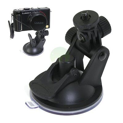 Window Windscreen Suction Cup Car Mount Tripod Holder for DSLR Camera Camcorder