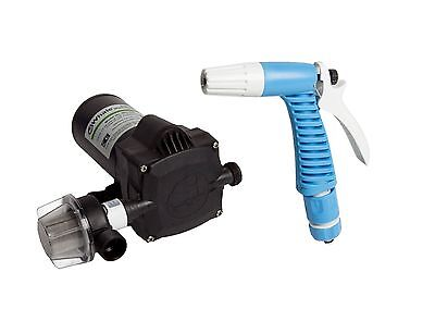 NEW Whale Saltwater Washdown Pump and Trigger Kit For Boats Vans Motorhomes etc