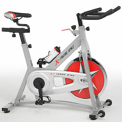 X-treme Basic Bike Silber - Indoor Cycle Speed Cycling Bikes