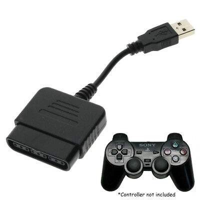 Hot Cable Converter For PS2 Controller to PS3 PC USB Adapter Converter Cable