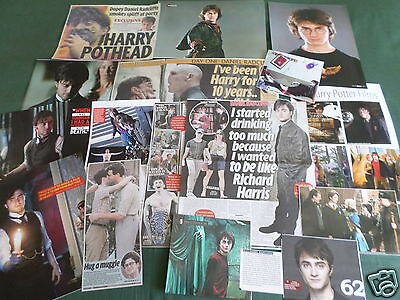 Daniel Radcliffe - Film Star - Clippings /cuttings Pack