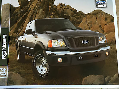 Mint ConditioN 2004 FORD RANGER BROCHURE 04