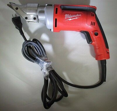 Milwaukee Cutting Shears — 120 Volt, 18 Gauge, 2500 SPM, 6.8 Amp, Model# 6852-20