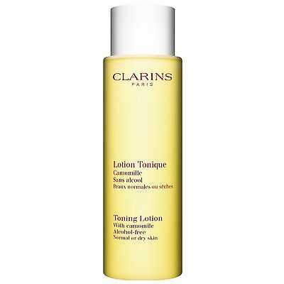 Clarins 200ml Toning Lotion with Camomile (Dry/Normal) BRAND NEW