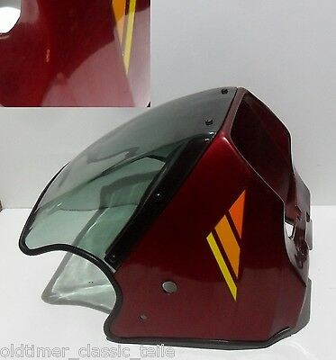 Panel Cockpit cover Zündapp K80 Type 540 540-19.900 NOS D red metallic