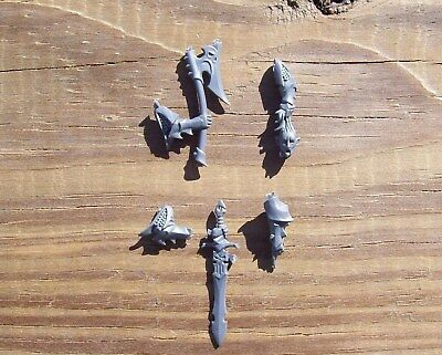 WFB Dark Elves Executioners/Black Guard Champion Weapon Arms Bits