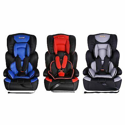 3 in 1 Convertible Child Baby Car Seat Safety Booster Seats Group 1/2/3 9-36kg