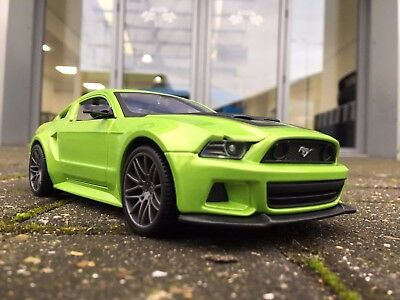 2015/16 5.0L Ford Mustang fastback 1:43 Scale Norev Die-Cast Model Car race red