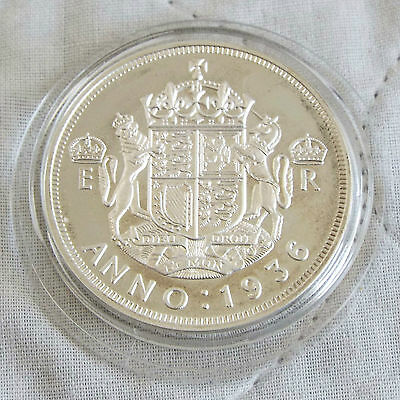 1936 Edward Viii Silver Proof Pattern Crowned Arms Crown