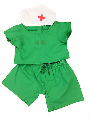 "Doctor Scrubs Outfit Teddy Bear Clothes Fits Most 14""-18"" Build-A-Bear and More"