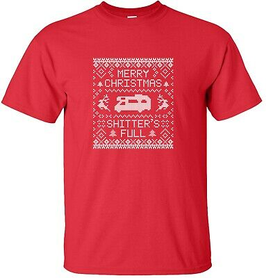 Merry Christmas Shitter's Full Griswold Family Vacation T-Shirt