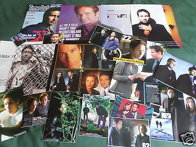 David Duchovny - Film Star - Clippings /cuttings Pack