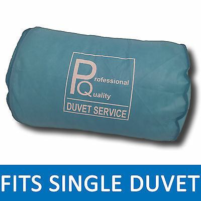 "Single Duvet Bag Storage Protector - 22""x15""- Professional Quality - BLUE"