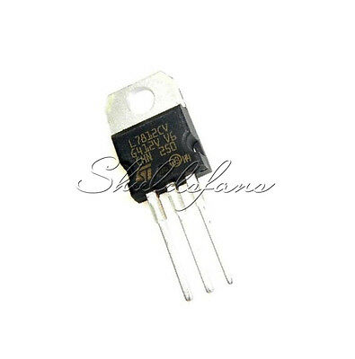 5PCS L7812CV LM7812 L7812 TO-220 Voltage Regulator IC NEW