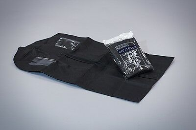 "Suit Cover (black) - High Quality Professional ZippedGarment Protector 40""/101cm"