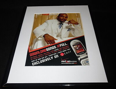 Xzibit 2006 Verizon Framed 11x14 ORIGINAL Vintage Advertisement