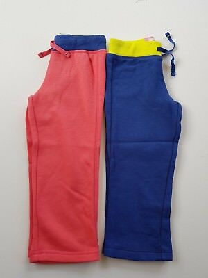 Mini Boden Girls Blue Or Pink Jersey Joggers Sweat Pants  Bnwot Ages 1-14