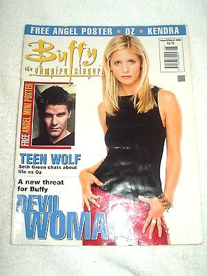 Buffy The Vampire Slayer UK Magazine Issue 6 March 2000
