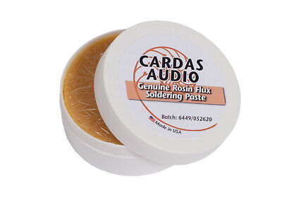 CARDAS AUDIO Activated Rosin FLUX Solder Paste for Quality Soldering 2 oz (55g)