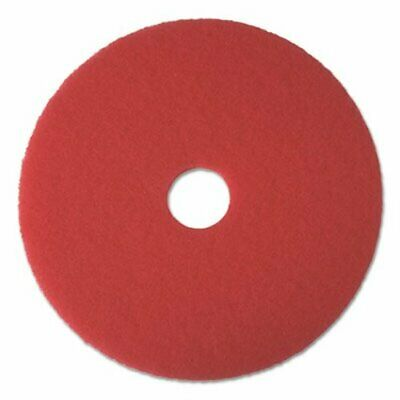 "Boardwalk Red 18"" Floor Buffing Pads, 5 Pads (BWK4018RED)"