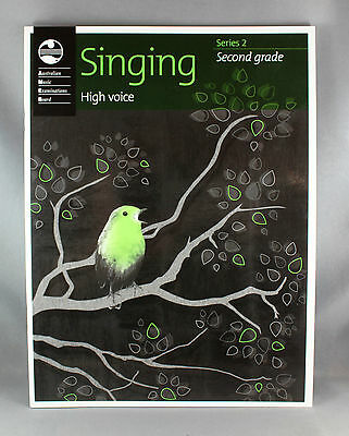 AMEB Singing Series 2 Grade 2 High Voice - Brand New