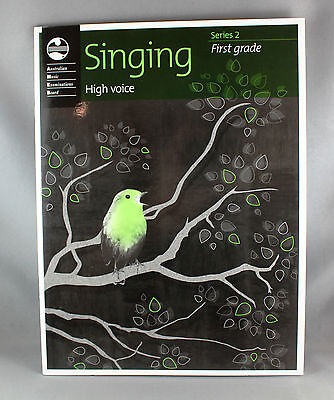 AMEB Singing Series 2 Grade 1 High Voice - Brand New