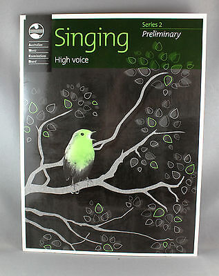AMEB Singing Series 2 Preliminary Grade High Voice - Brand New