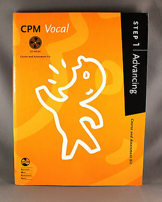AMEB CPM Vocal Course & Assessment Kit and CD - Step 1 Advancing - Brand New