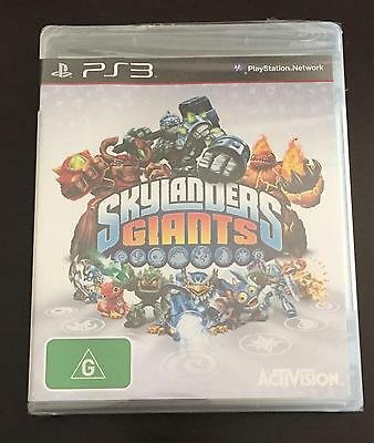 Skylanders Giants Game Disc For PS3 Playstation 3 Brand New Sealed Region 4