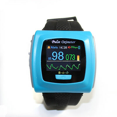 Digital Adult Spo2 Monitor Pulse Oximeter Wrist Wearable good quality sale
