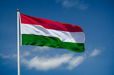 3x5FT HUNGARY FLAG HUNGARIAN FLAGS 90x150cm Hanging Hungary Flag banner Outdoor