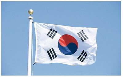 Large South Korea Flag Polyester the Korean National Banner 3x5ft Taegeukgi ROK