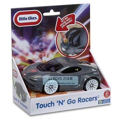 Little Tikes Touch and Go Toy Vehicle Racer Sports Car Grey