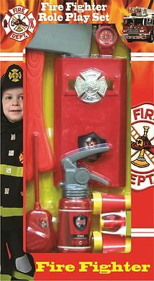 Fantastic Fire Fighter Role Play Kit for Kids by Dress up America