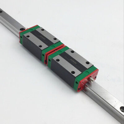 20mm HIWIN HGR20 Linear Guide Rail & 2pc HGH20CA Rail Block Carriage CNC Router