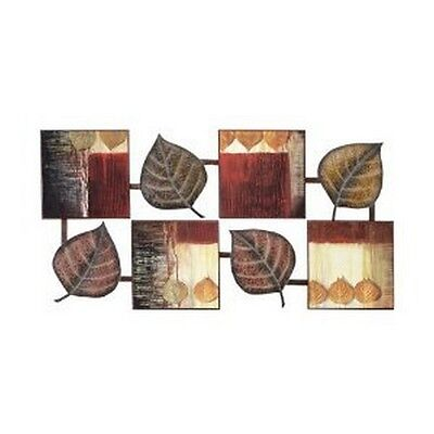 Aspire Abstract Leaf Wall Decor Multi New