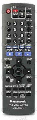 *NEW* Replacement Panasonic Remote Control For Discontinued N2QAYB000095